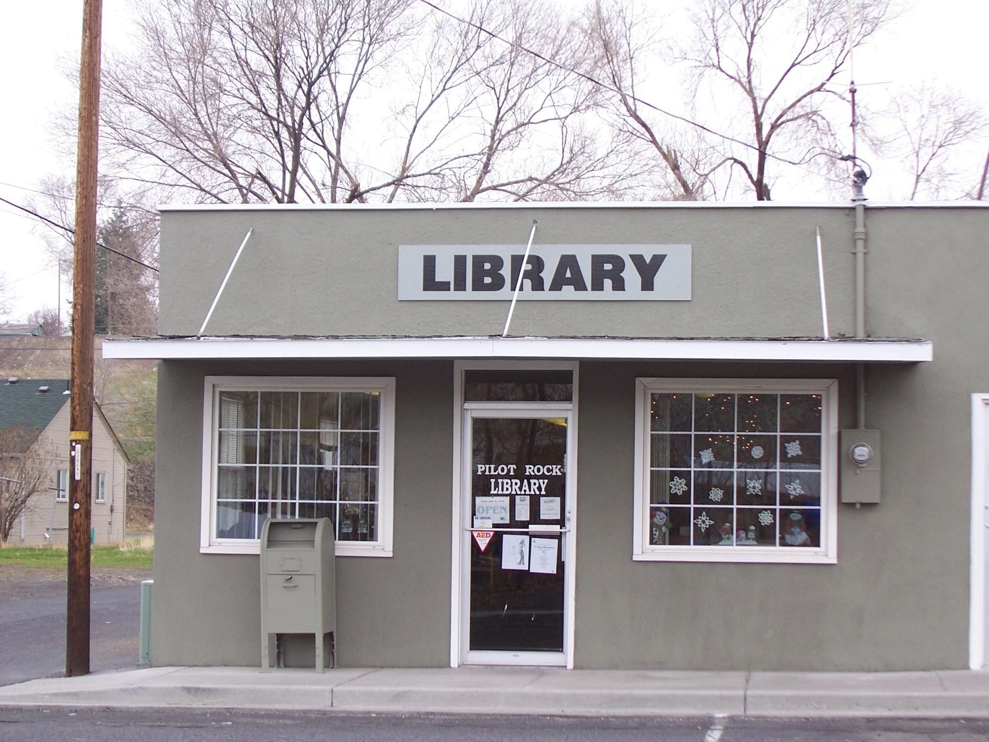 Pilot Rock Public Library building